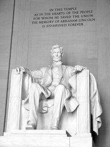 Lincoln Statue Inside
