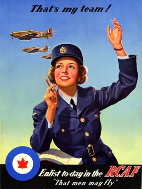 RCAF WomensDivision-26-poster-affiche
